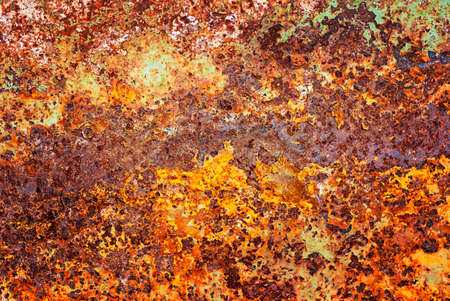 Abstract red and blue old rusty metal background Stock Photo - 17779811