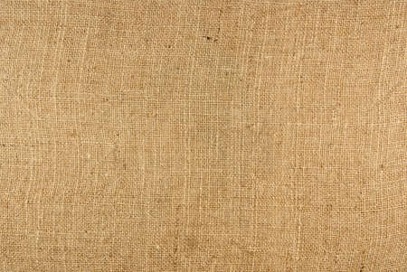 Closeup of a burlap texture background Stock Photo