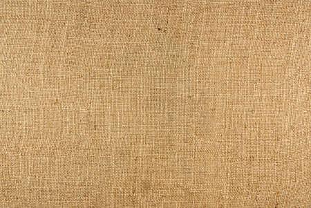 Closeup of a burlap texture background Stock Photo