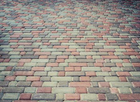 石のブロックの通路で
