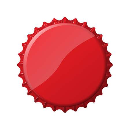 An image of a nice bottle cap Stock Illustratie