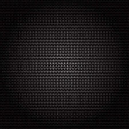 ebon: Superficie de metal Textura salpicada perforado fondo negro