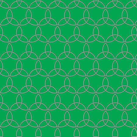 textile industry: Celtic seamless pattern. Colored with green. Pattern can be used for wallpapers, backgrounds, web pages, in textile industry, invitation cards.