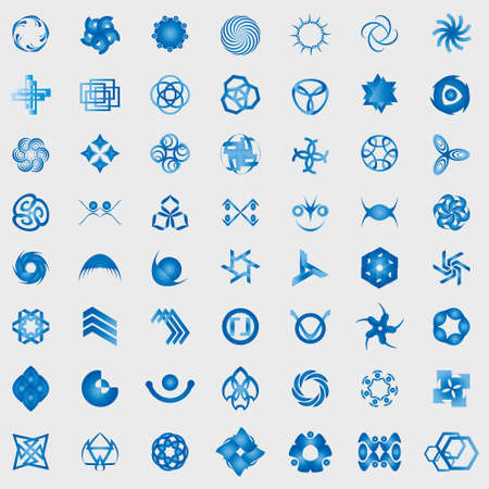 Unusual Icons Set - Isolated On Gray Background - Vector Illustration, Graphic Design Editable For Your Design Vector
