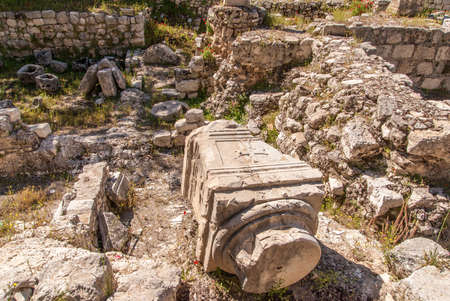 bethesda: Ruins of the Temple of Serapis in Jerusalem