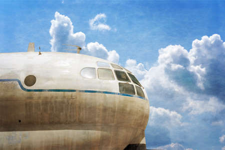 masada: HATZERIM, ISRAEL - APRIL 27, 2015: Boeing KC-97G Anak Masada military transport plane is displayed in Israeli Air Force Museum in Hatzerim, Israel