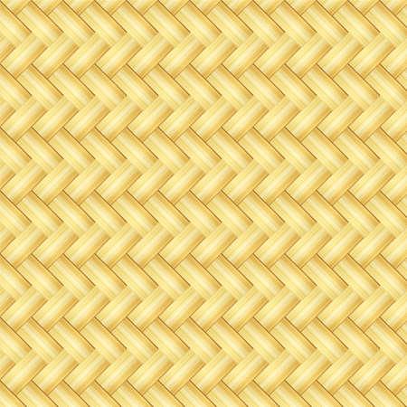 抽象的な装飾的な木製テクスチャかごの編み方の背景。
