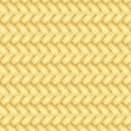 Abstract decorative wooden textured basket weaving background. 矢量图像