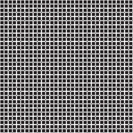 art materials: Black and white checkered seamless pattern background