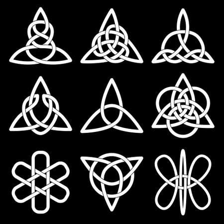 Collectie van Keltische knopen voor gebruik in uw creatieve projecten