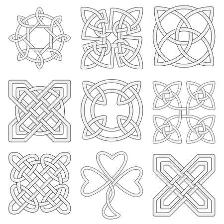 triquetra: Collection of Celtic knots for use in your creative projects