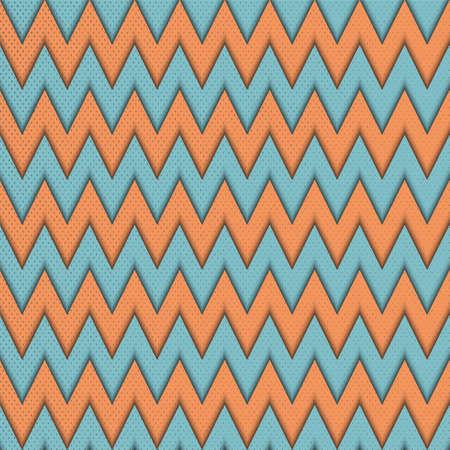zig: Abstract geometric seamless pattern with  zig zag. Illustration