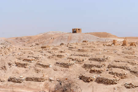 Nabi Musa site and mosque at Judean desert