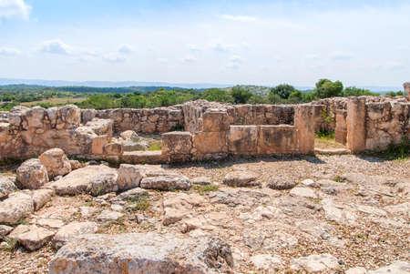 Etri ruins near Beit Shemesh