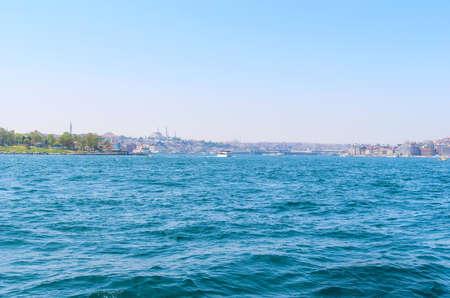Sea view of bosphorus in Istanbul, Turkey