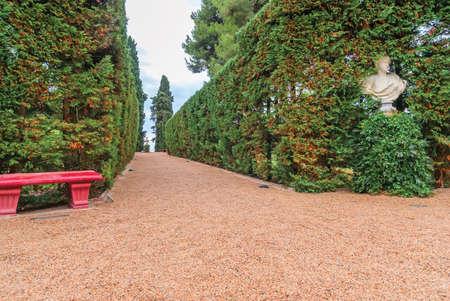 Santa Clotilde Gardens. Costa Brava Spain