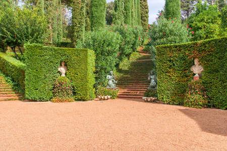 Santa Clotilde Gardens. Lloret del Mar, Costa Brava, Spain