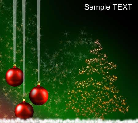 scintillating: SCINTILLATING CHRISTMAS TREE - STAR CLOUD Stock Photo