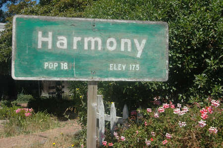 Signage: Only 18 live in Harmony