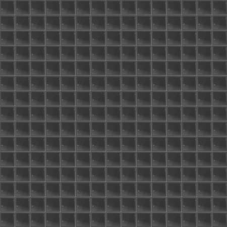 tetraedro: Black Pattern Tetrahedral Mosaico