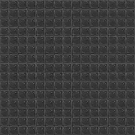 tetraedro: Black Pattern Tetrahedral Mosaic