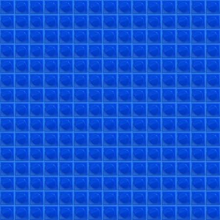tetraedro: Blue Pattern Tetrahedral Mosaic