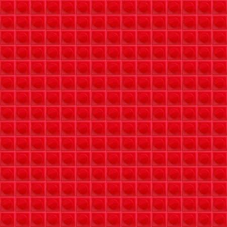 tetraedro: Red Pattern Tetrahedral Mosaic Vettoriali