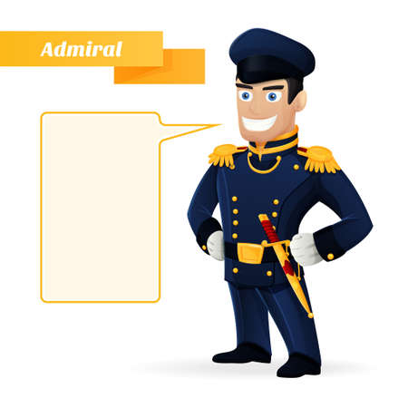 admiral: Admiral Illustration