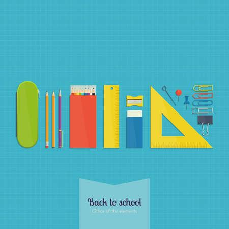 fournitures scolaires: Bureau des �l�ments