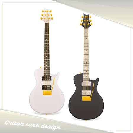 Design Guitar Case Illustration