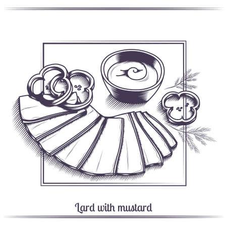 Lard With Mustard Black