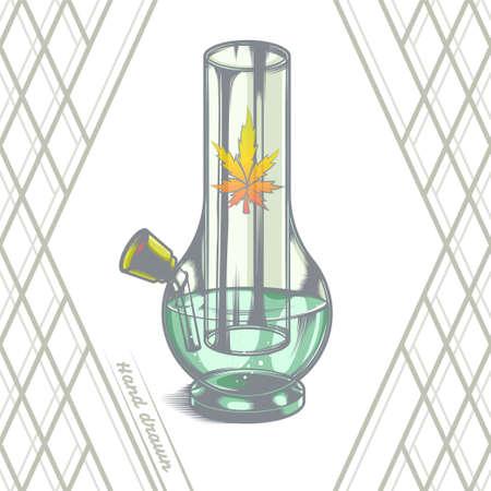 bong: Large Glass Bong