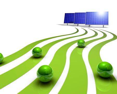 Solar panels Stock Photo - 5665462