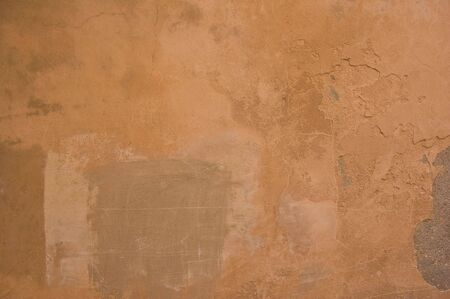 A grungy rough terracotta wall texture !