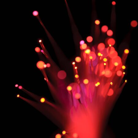 detail view of different defocused colorful light dots Stock Photo - 7897835