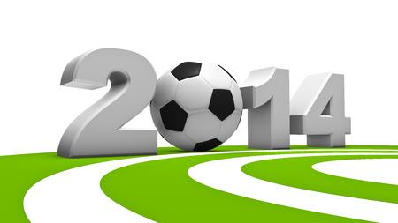 soccer wm: Resumen 3D de la copa del mundo de f�tbol 2014
