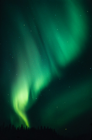 Northern lights Stock Photo - 33070465