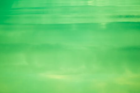 Green water abstract Stock Photo