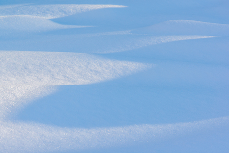 Snow waves and shadows