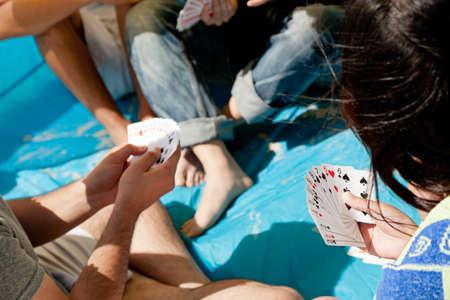 Spiel der Karten Standard-Bild - 11155693