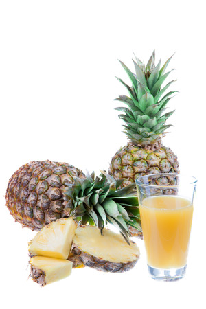 pineapple juice with fruit