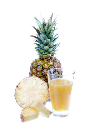 pinapple juice with fruits
