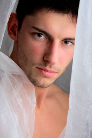 Portrait of attractive young man. Photo. Stock Photo - 5593763