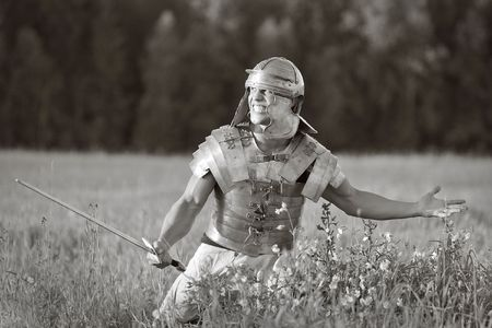 Agressive Roman soldiers. Stock Photo - 5633308