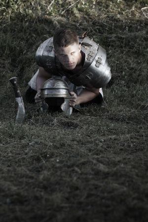 Agressive Roman soldiers. Stock Photo - 5639989