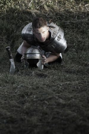 roman soldiers: Agressive Roman soldiers.