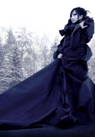 female wizard Stock Photo - 5671349