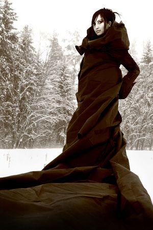 female wizard. photo