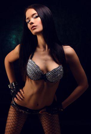 Young sexy girl posing Stock Photo