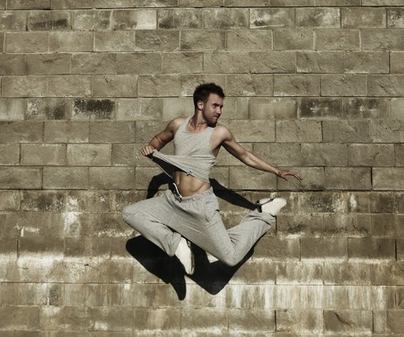 street dancer  Stock Photo